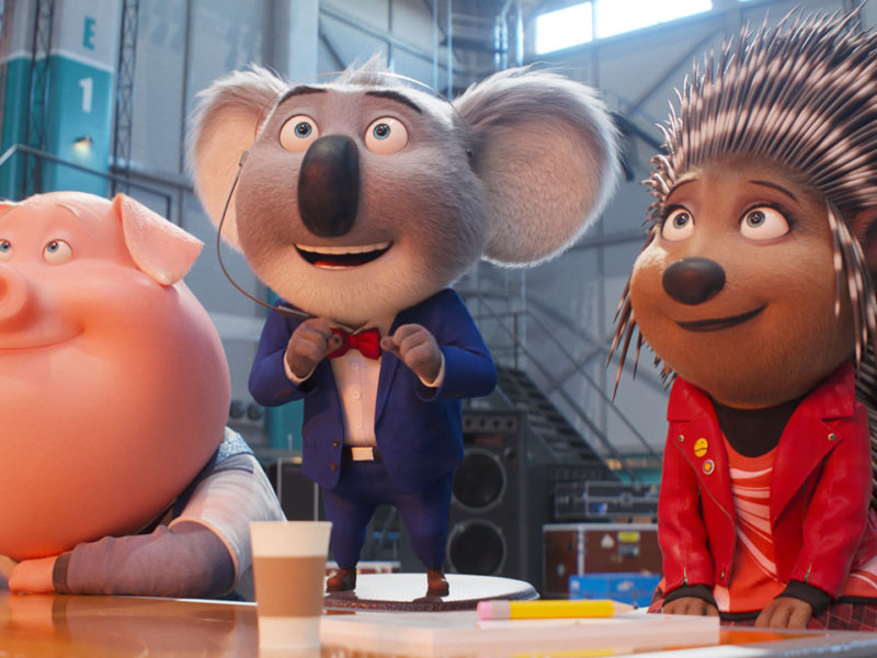 All on Stage 2 Trailer: Buster Moon and the Singing Animals Return!  - Cinema News