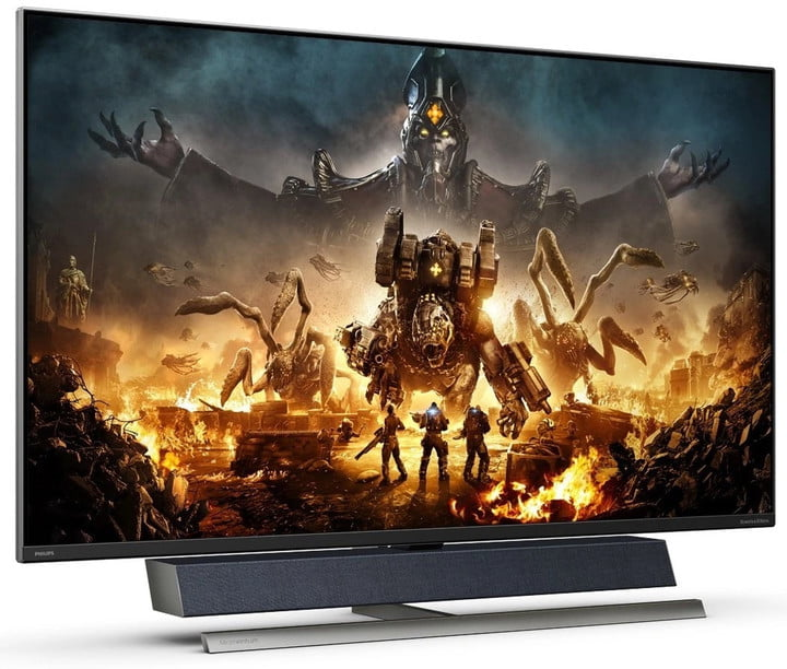 Philips launched a 55-inch Momentum display for your Xbox with an integrated soundbar.