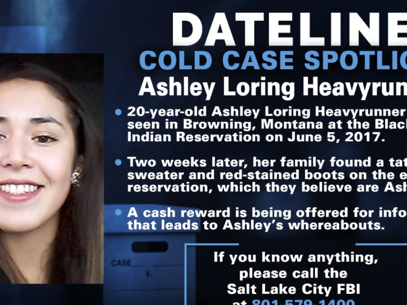 Family, friends hold annual walk for Ashley Loring Heavyrunner, raising awareness for those who have vanished from Native American communities