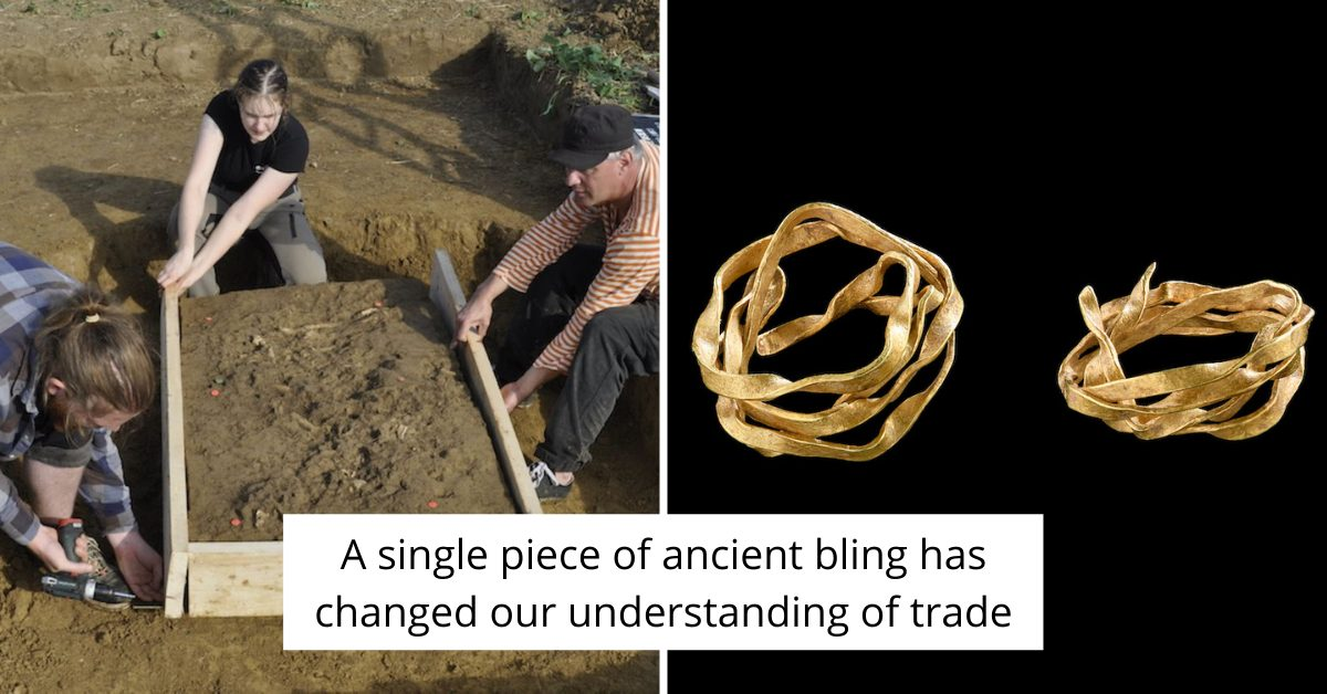 Ancient Gold Spiral Was Found In Germany But Made In England
