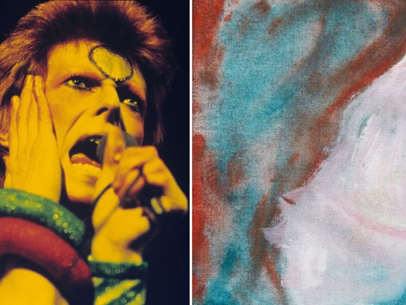 David Bowie Painting Found In Canadian Landfill Is About To Sell For Thousands At Auction