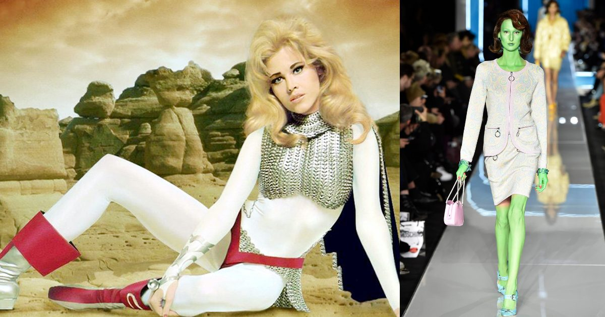 10 Times Futuristic Fashion Truly Reached For The Stars