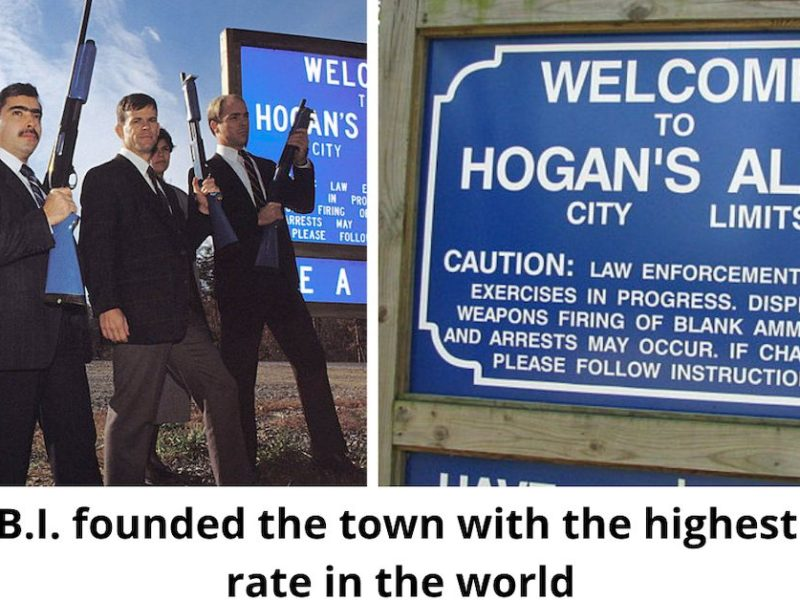 The Fake Town With The World's Highest Crime Rate
