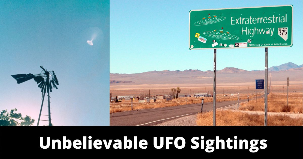 5 Of The Most Famous, Still Unsolved UFO Sightings