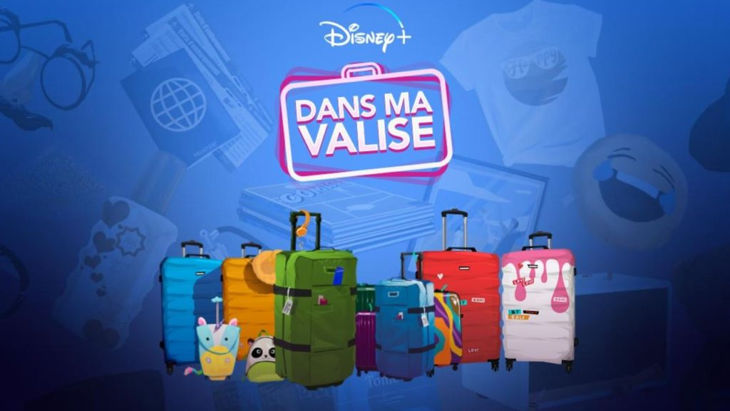 In my Disney + suitcase: tell us what you're taking on vacation, we'll tell you which Disney + program to watch! - News Series on TV