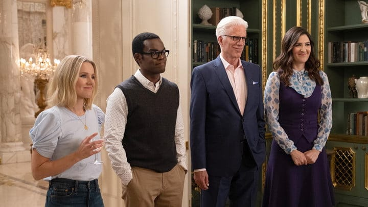 The cast of The Good Place.
