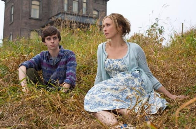 The main characters from Bates Motel.