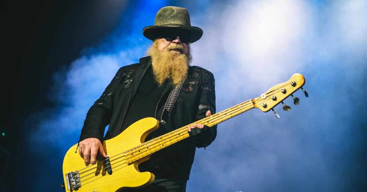 Dusty Hill, bassist for iconic rock group ZZ Top, dies at 72