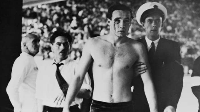 The infamous 1956 Olympic water polo match known as