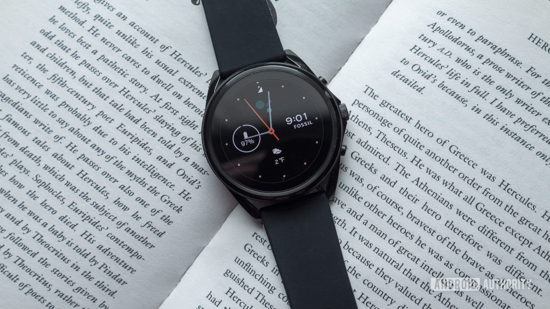 fossil gen 5 lte review watch face display 2