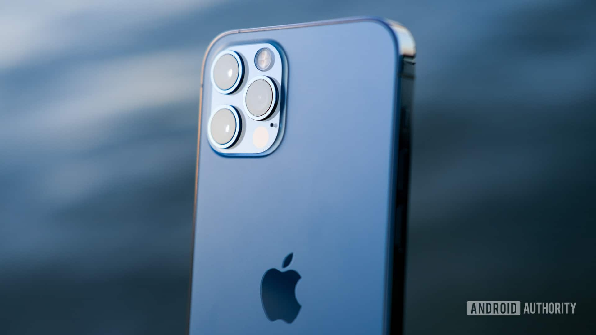 iPhone 12 Pro top half of back