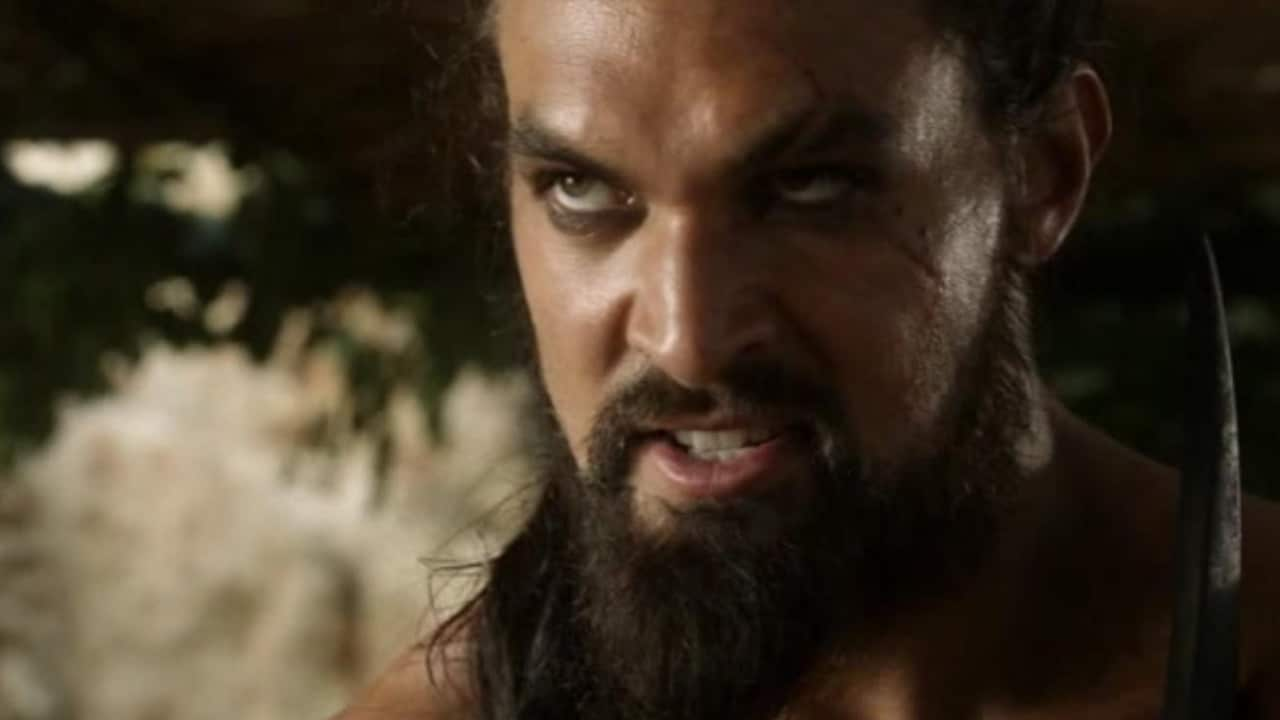 """Game of Thrones: Jason Momoa (Khal Drogo) """"disgusted"""" by a question about his character"""
