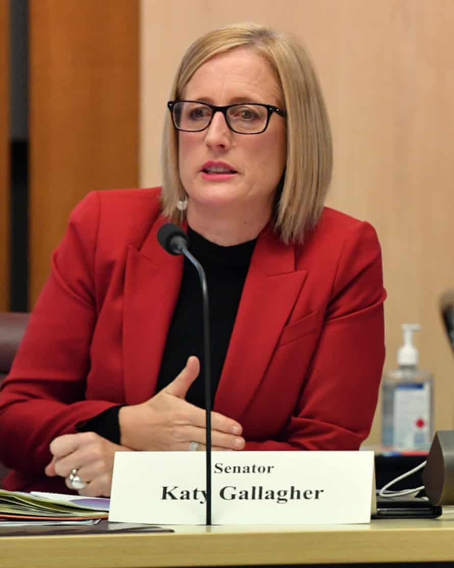 Shadow minister for finance, Katy Gallagher.