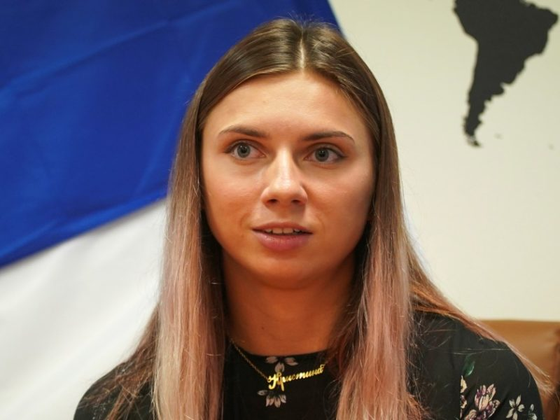 Belarus Olympic sprinter says she fled after family's warning made her fear return home