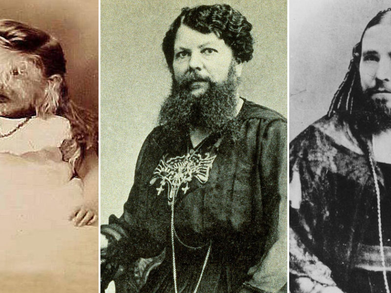 Bearded Women Throughout History