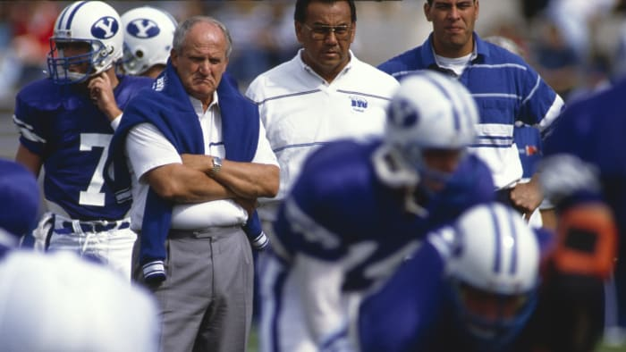 The passing attacks of LaVell Edwards fed Brigham Young.