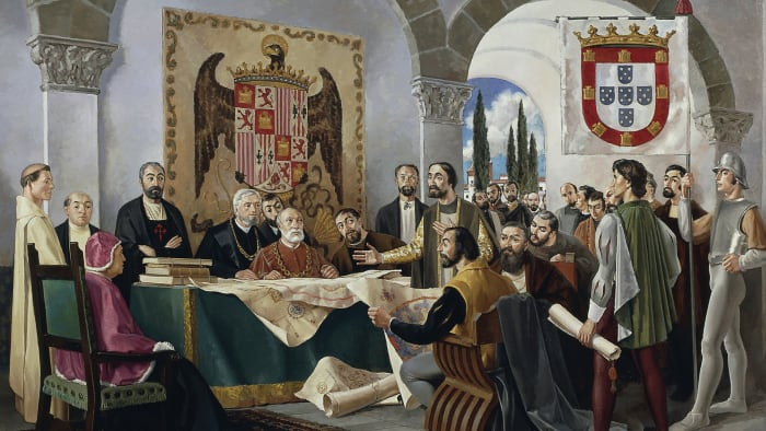 Treaty of Tordesillas, 1494