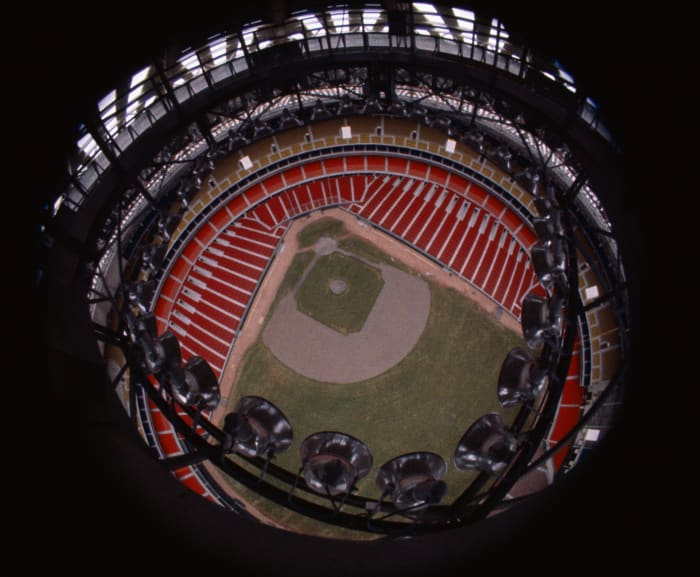 The Astrodome was the first indoor stadium for Major League Baseball.