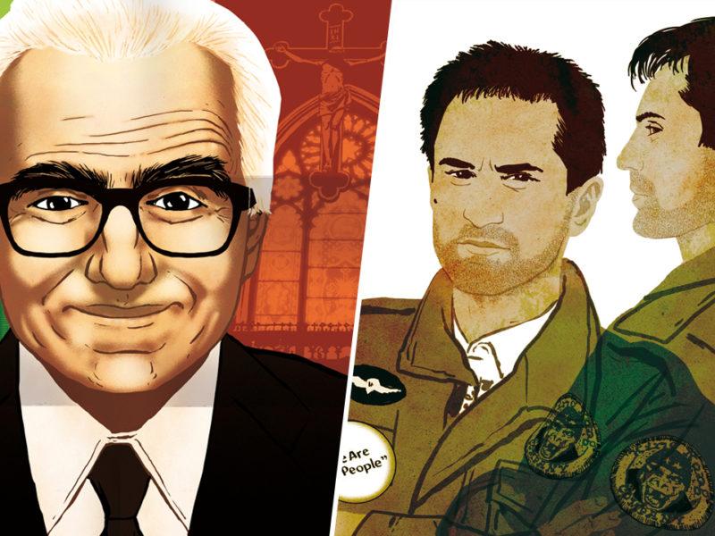 Martin Scorsese : le sublime roman graphique d'Améziane qui retrace la vie du réalisateur -...
