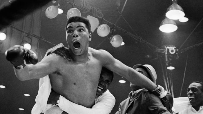 When Muhammad Ali was nominated twice for a Grammy