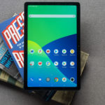 Realme Pad tablet review top down view of the screen