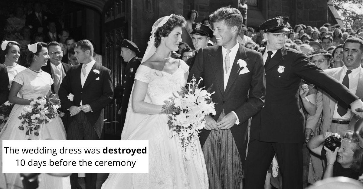 Stunning Wedding Dresses Worn By America's First Ladies