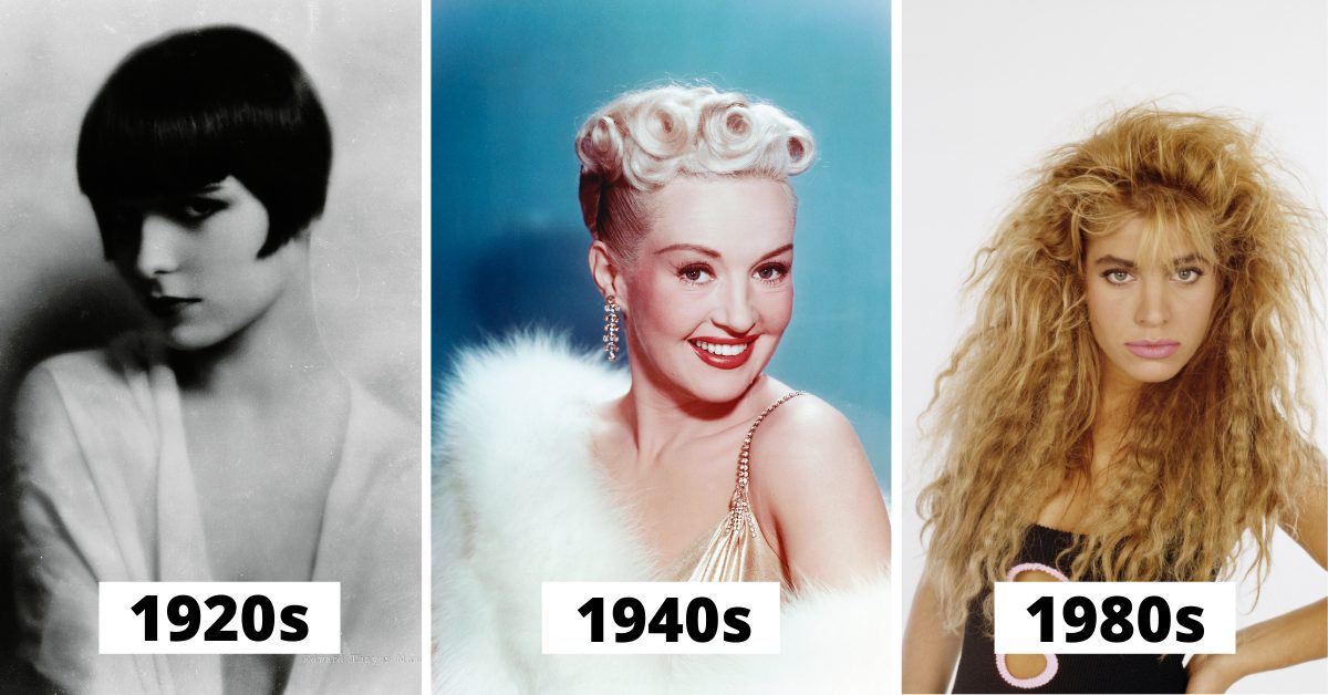 The Fabulous (And Sometimes Strange) Female Hairstyles Of The Last Two Centuries