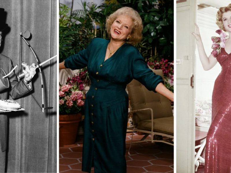 10 Of The Oldest Celebrities in the World