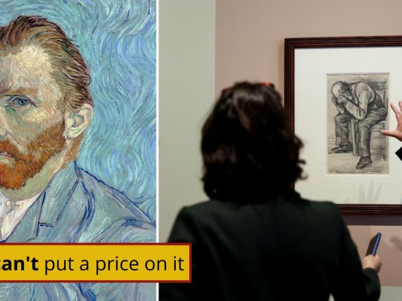 Never-Before-Seen Van Gogh Art Goes On Display In Amsterdam