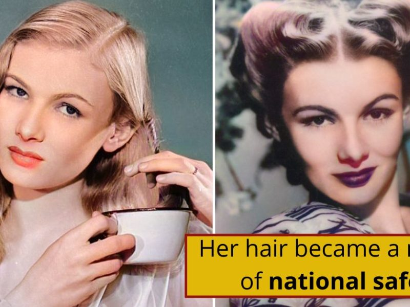 The U.S. Government Requested That Veronica Lake Change Hair For The War Effort