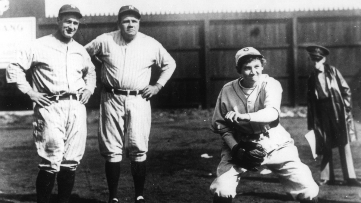 The 18-Year-Old Woman Who Struck Out Babe Ruth and Lou Gehrig