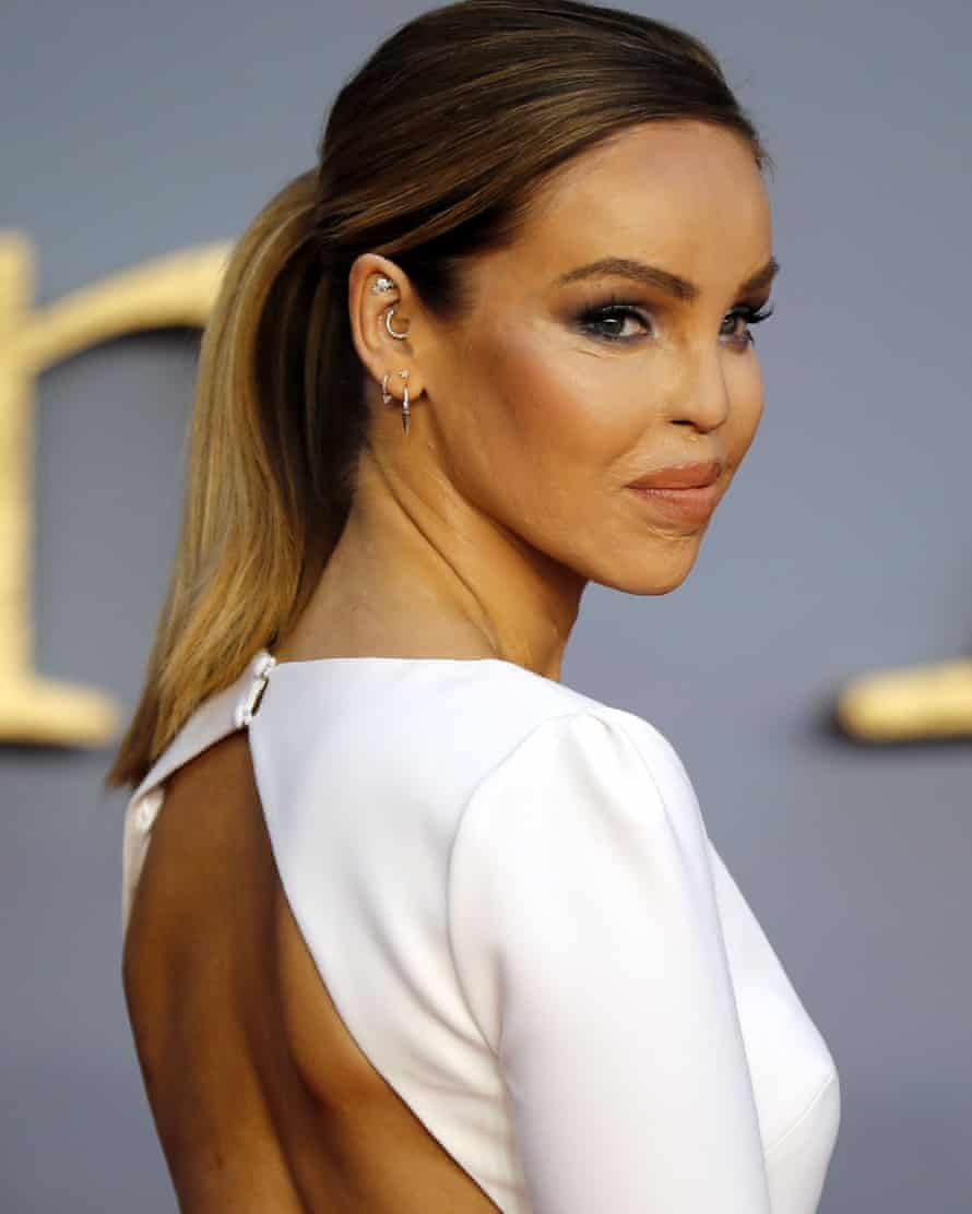 Television presenter Katie Piper, who is building an online community for people who don't fit beauty stereotypes.