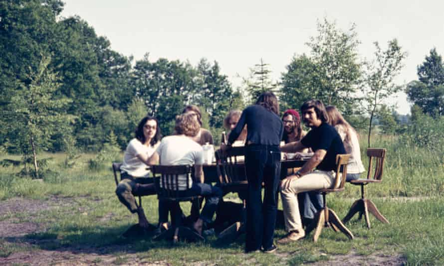 'No stardom there. But we had a good life' … Faust in Wümme, 1972.