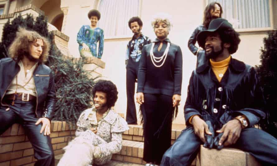 'Border-crossing' ... Sly and the Family Stone.