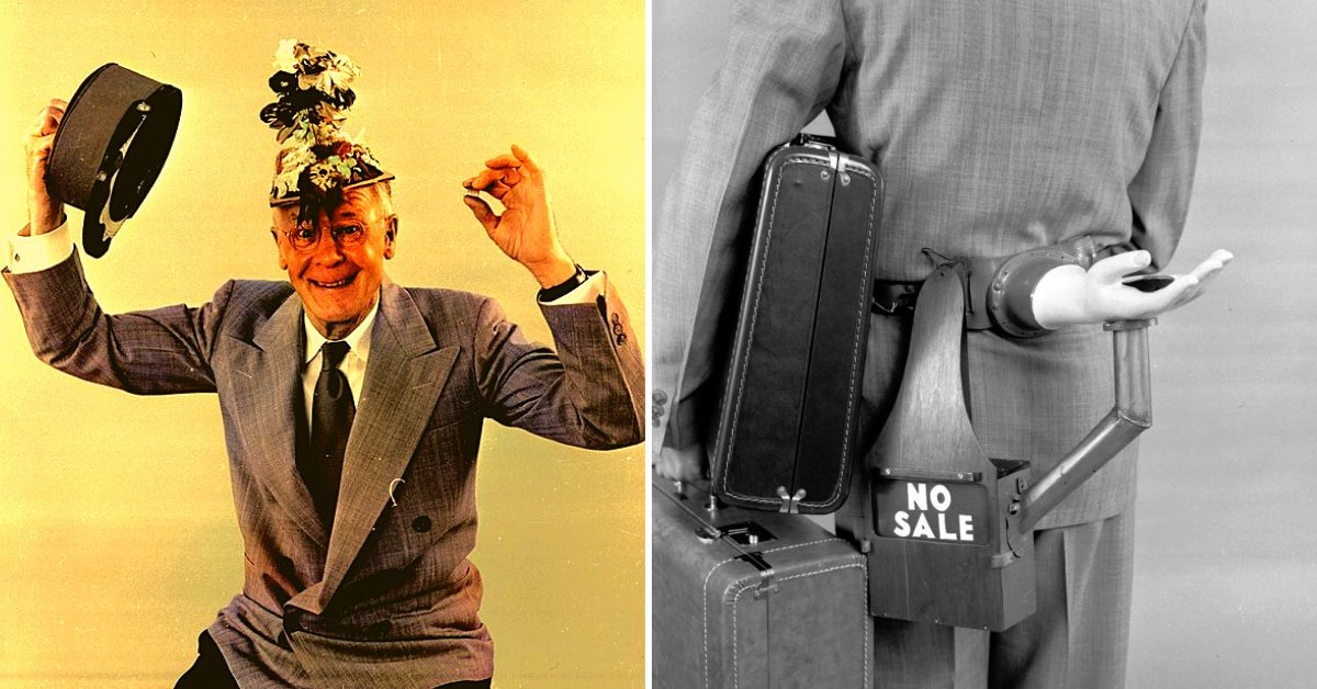 Inventor Russell E. Oakes Concocted Many Inspired But Useless Items – Here Are Some of the Strangest!